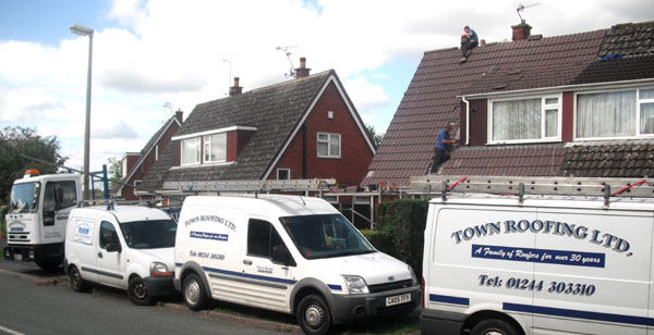 Roofing in Chester